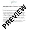 Optional Declination thumb ACA & ERISA Employee Compliance Notices