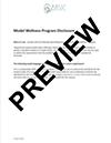 Wellness Program Disclosure thumb ACA & ERISA Employee Compliance Notices