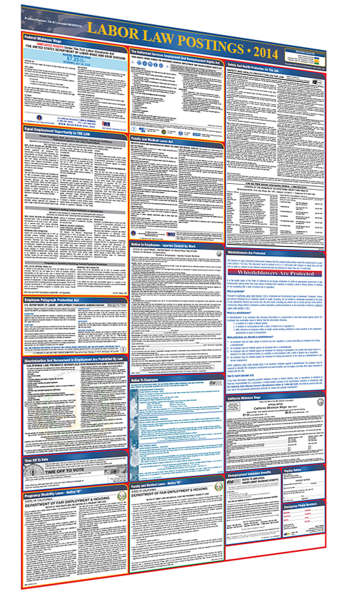 Generic All In One Poster Graphic Right BASIC Labor Law Poster Compliance Service