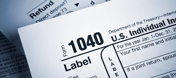 The 2018 1040 Form Shortened - BASIC