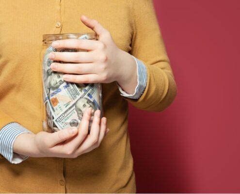 Individual savings.