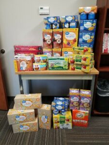 VTO: Snacks to be packed together for area children.